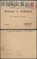 AK274 Lettre De Bruxelles à Amiens France 1928 +1cent X5