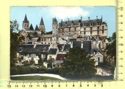 CPM, LOCHES: Vue Sur La Collégiale St-Ours Et Le Château