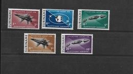 SURINAME 1964  Y.T.391-395  MNH/** SPATIALE - Surinam