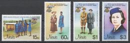Nevis 276-79** GIRL GUIDES, 75th ANNIV.