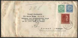 1939 Germania, Lettera Per La Norvegia - Deutschland