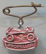 PROPELLER - Skating, Roller Skates, Vintage Pin, Badge, Abzeichen - Patinage Artistique
