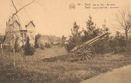AALST / HET PARK MET HET KANON VAN 1914-18 - Aalst