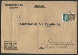 1935 Germania, Lettera - Deutschland