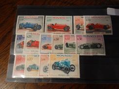 Monaco-année 1967-séries 708 à 721 14TP Beufs** Sans Charnières