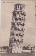 Italie,italia,TOSCANA,TOSCANE,PISA,PISE,ll Campanile Della Cattedrale,tour De Pise,carte Ancienne,1921 - Pisa