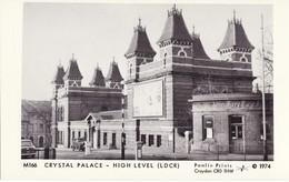Railway Postcard Crystal Palace High Level LCDR LC&DR SR Southern Pamlin M166 - Bahnhöfe Ohne Züge