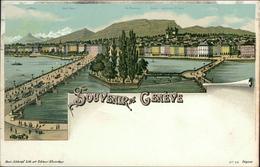 AK Souvenir De Genève, Genf, Um 1900 (1005) - GE Genève