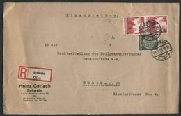 1936 Germania, Lettera Raccomandata - Deutschland