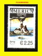 NICARAGUA 1991 UPAEP AMERICA ,MOUNTAINS VOLCANS VULKAN BERG MONTAIGNE YY 1589   NEUF MNH POSTFRISCH