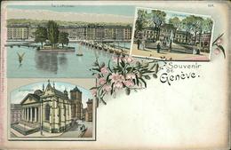 AK Souvenir De Genève, Genf, Um 1900 (1009) - GE Genève