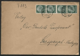 1937 Germania, Lettera  Raccomandata - Deutschland