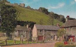 THE SQUARE  AND PEVERIL CASTLE CASTLETON - England