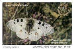 *ITALIA: ALBACOM - SERIE FARFALLE D'ITALIA* - Scheda NUOVA (MINT) - Schede GSM, Prepagate & Ricariche