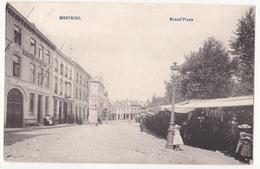 Scherpenheuvel: Grand'Place. (Kraampjes) - Scherpenheuvel-Zichem