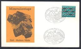 Germany 1983 Minerals; Mineraux Bergbau Mines HALIT Fossil Fosil Mineralogy Fossilien; Brenikt Eifel; Volcanos