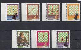 A2 1983 NICARAGUA CHESS MOVIMIENTOS 1SET MNH