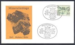 Germany 1983 Minerals; Mineraux Bergbau Mines HALIT Fossil Fosil Mineralogy Fossilien; Mineralien Tage München; Grube