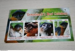 WWF  Gambia  2016  Rare Mini-block  Fauna