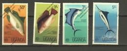 UGANDA Nº 126 AL 129