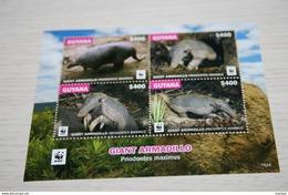WWF  Guyana  2016  Rare Mini-block  Fauna