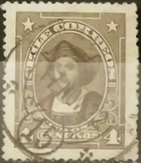 "CHILE 1915 - 1927 Personajes. Leyenda ""CHILE CORREOS"". USADO - USED - Chili"