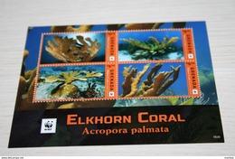 WWF  Grenada  2016  Rare Mini-block  Coral