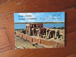 Carnet De 6 Vues D'Egypte       Kom Ombo       Temple  Of Sebekh