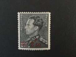 1938 Konig Leopold III  Aufdruck 2,50 Fr. Mi.-Nr.479 *)