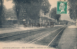 ST PERAY - N° 522 - INTERIEUR DE LA GARE - Saint Péray