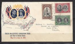 Canada FDC En 1939