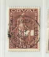 Timbre Belgique Première Orval   N° 261 - 60c + 15c Oblitération Bruxelles 4 Brussel