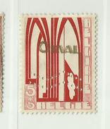 Timbre Belgique Première Orval Perforée   N° 258A - 5c + 5c