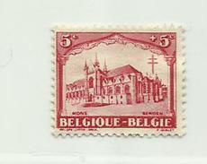 Timbre Belgique Antituberculeux. Série Dite Les Cathédrales   N° 267 - 5c + 5c