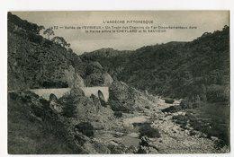 Ref 200 - Vallée De L'EYRIEUX  Train Des Chemins De Fer Départementaux Dans La Vallée Entre Le CHEYLARD Et SAINT-SAUVEUR - Frankreich