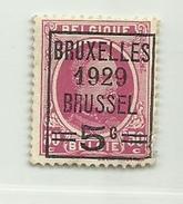Timbre Belgique . Roi Albert I   N° 273 - 5c Sur 30c - 1922-1927 Houyoux