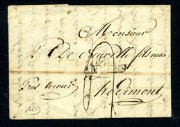 Précurseur D'Anvers Pour Hodimont (Verviers) 1813 - 1794-1814 (Periodo Frances)