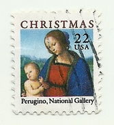 1986 - Stati Uniti 1693 Quadro Del Perugino