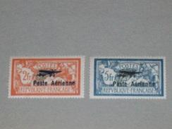 France - Poste Aérienne Type Merson - PA1 Et PA2  - Qualité ** ( Neuf Sans Traces De Charnières )