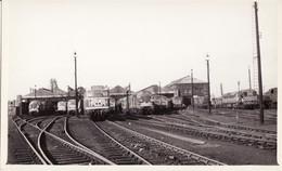 Railway Photo Doncaster Shed C1966 WD Austerity BR Class 08 31 37 47 Loco - Eisenbahnen
