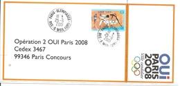 2001 Candidature De Paris Aux Jeux Olympiques 2008