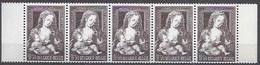 BELGIQUE - Cob - Bande De 5 X 1556** - Cote 1,25 € - Tableau De Jean Godsart Dit Mabuse