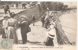 Cpa 69 L'ile Barbe Concours De Peche Du Petit Journal 25 Juin 1905 Carte Rare à Saisir Grosse Animation - Other