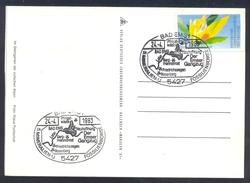 Germany 1983 Card Minerals; Mineraux Bergbau Mines Fossil Fosil Mineralogy Fossilien Mineralien Fossilienbörse Bad Ems