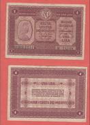 Cassa Veneta Prestiti 1 Lira 1918 - [ 4] Emissioni Provvisorie