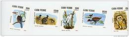 Cap Vert-Cabo Verde-1981-Oiseaux,Egrette,canard,chouette,...YT 450/7***MNH