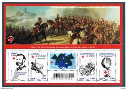 FRANCE - 2009 - CROIX-ROUGE - N° F4386 - NEUF LUXE** - 15ème Anniv De La CROIX-ROUGE  - Y & T  - COTE : 15,00 Euros - Booklets