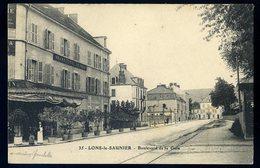 Cpa Du 39 Lons Le Saunier Boulevard De La Gare    NCL62 - Lons Le Saunier