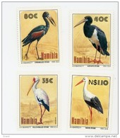 Namibie 1994-Echassiers-YT 732/35***MNH