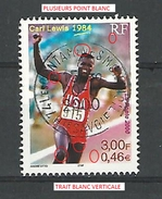 2000 N° 3313  LE SPORT CARL LEWIS 20 . 5 . 2000  DESCRIPTION